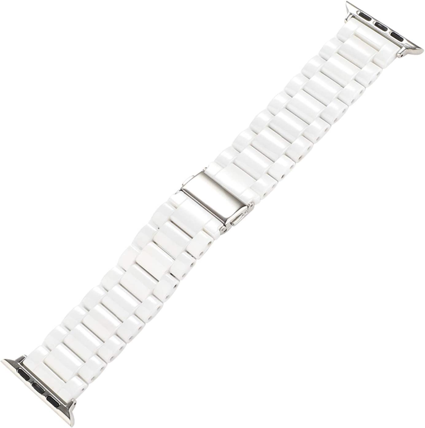 ZQAFAC Smooth Ceramics Bracelet for Watch Band Ranking TOP16 1 5 Max 46% OFF Series 3 4 2