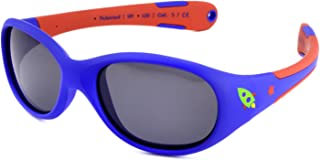 ActiveSol Baby Sunglasses Boys 100% UV 400 Protection Polarised Indestructible Flexible Rubber 0-2 Years 18 g Gift