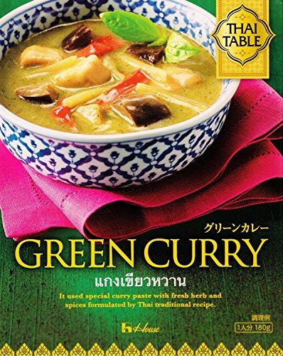 THAI TABLE グリーンカレー 180g