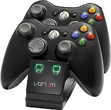 Venom Twin Charging Cradle: Black (Xbox 360) [Importación inglesa]