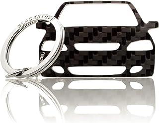 BlackStuff Carbon Karbonfaser Schlüsselanhänger Kompatibel mit Astra G 1998 2004 BS 793