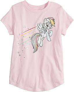 Little Girls' 4-12 Rainbow Dash My Little Pony Tee
