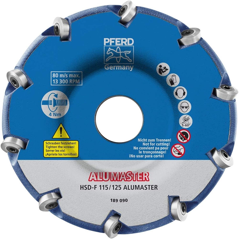 1 1 1 x PFERD High Speed Disc ALUMASTER HSD-F 115 125 ALUMASTER B07PXKY4PC | Verkauf Online-Shop  7f353d