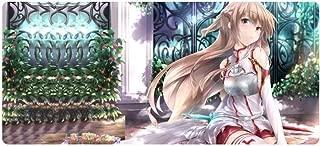 Alfombrillas De Ratón Sword Art Online,800X400X3Mm Alfombrilla De Ratón Anime XL Padmouse Antideslizante Grande para Accesorios De Escritorio Alfombrilla De Goma Speed Pc-B 700X300X3Mm