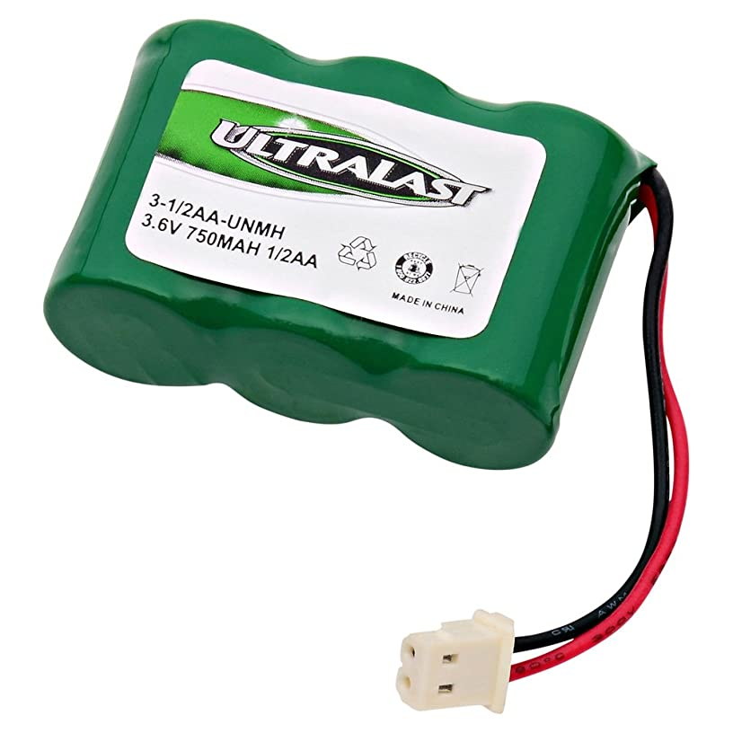 3-1/2AA-UNMH - Ni-MH, 3.6 Volt, 600 mAh, Ultra Hi-Capacity Battery - Replacement Battery for Rechargeable Cordless Phone Battery