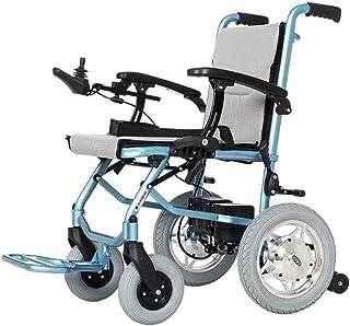 Silla de ruedas eléctrica plegable, silla de ruedas eléctrica ligera, silla de ruedas eléctrica con fuente de alimentación o como sistema de control dual para silla de ruedas manual 300W * 2 motor (ba