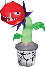 Gemmy Airblown Inflatable Man Eating Venus Fly Trap Plant - Indoor Outdoor Holiday Decoration, 7-foot Tall