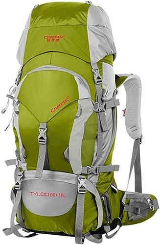 A-SSJ Plein air sac à dos 60L sac à dos étanche sacs à dos sacs hommes et femmes forfaits de voyage professionnel alpinisme