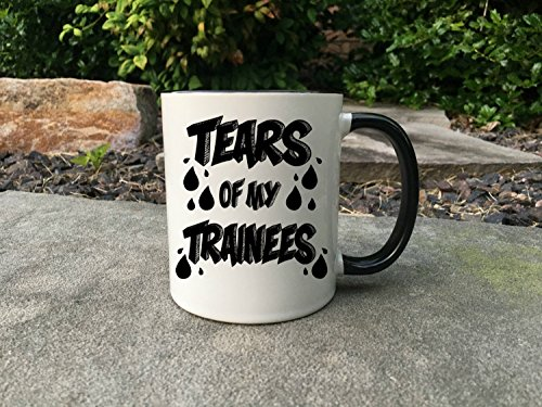 Tears of My Trainees Lustige Tasse sarkastisches Geschenk Kaffeetasse ATC Mug Air Traffic Controller Mug