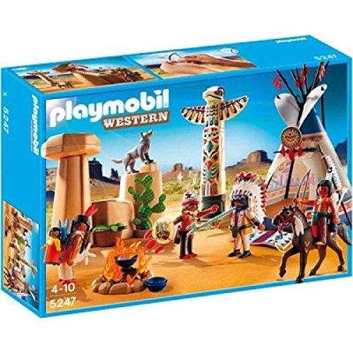 PLAYMOBIL: Campamento Indio con tótem