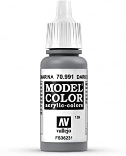 Vallejo Dark Sea Grey Model Color Paint, 17ml