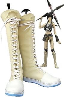Final Fantasy VII FF7 Yuffie Kisaragi Cosplay Shoes Boots Custom Made 3