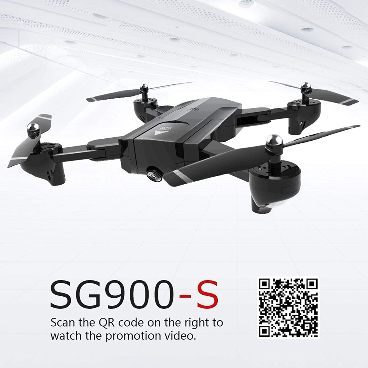 Kongqiabona SG900-S Drone GPS Drone RC Drone Foldable Drone Smart Drone FPV Quadcopter RC Quadcopter Selfie Drone