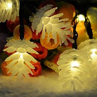 Christmas Best Decoration!!!Kacowpper Solar Pine Cone Light Christmas Lights Decoration Outdoor Waterproof Lamp 20 LED,Enjoy a Warm Atmosphere