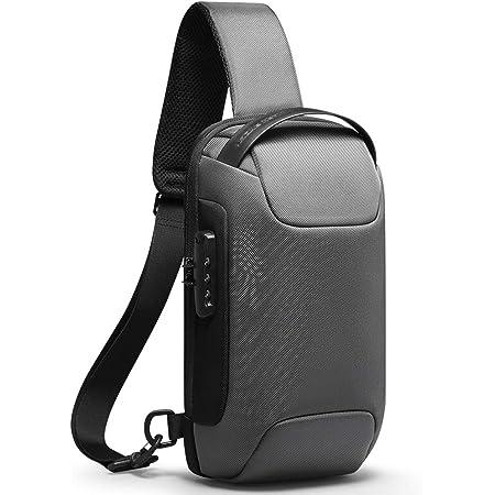 MARK RYDEN Bolso Bandolera Hombre con candado TSA y Bandolera con Carga USB para iPad de 9,7 Pulgadas Bolso Impermeable para Trabajo, Negocios, Viajes, Escuela y al Aire Libre