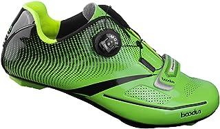 LIXADA サイクリングシューズ ビンディングシューズ メンズ カーボンファイバー 3色 超軽量 通気性 耐磨耗 衝撃吸収 ロード スポーツ サイクリング バイク サイクルシュ?ズ