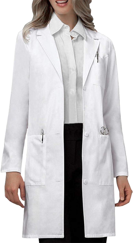 VOGRYE Professional Lab lowest price Coat for Latest item Women White U Sleeve Men Long