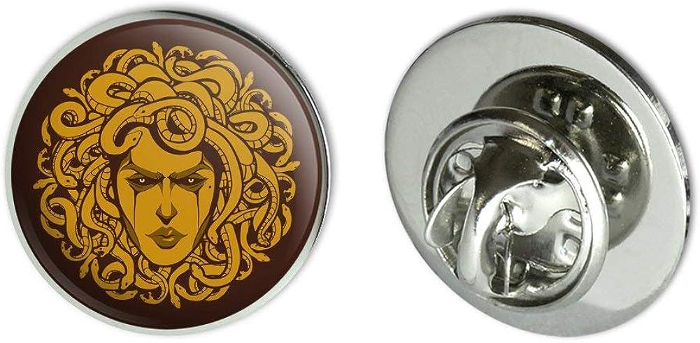 GRAPHICS & MORE Medusa Gorgon Head Covered in Snakes Metal 0.75