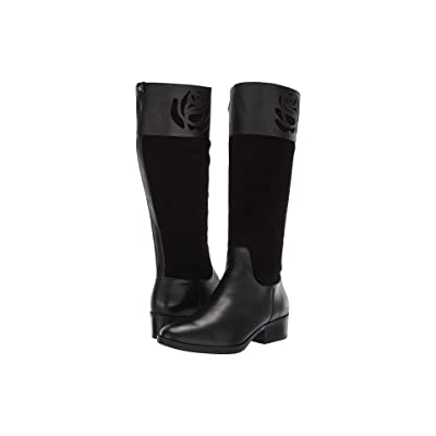 Taryn Rose Georgia Weatherproof (Black Smooth Leather) Women
