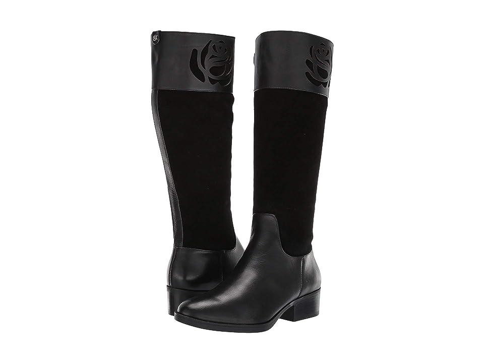 Taryn Rose Georgia Weatherproof (Black Smooth Leather) Women