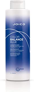 Joico Joico Color Balance Blue Conditioner | Eliminate Brassy and Orange Tones | Repair and Protect Color-Treated Hair | F...