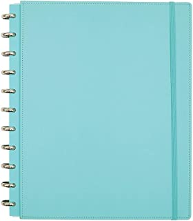 Office by Martha Stewart Discbound Customizable Notebook, Letter Size, Blue (44461)