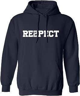 Derek Jeter Retirement New York Captain Re2pect Men's Hoodie Sweatshirt