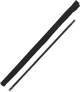 フルート クリーニング 2点セット スワブ (お手入れ用クロス) & ロッド アトリエ トマアズ (スワブ…ブラック n20/ロッド…Shiny ネイビー)