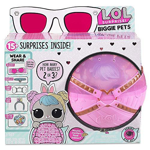 L.O.L. サプライズ! ビギー ペットホップホップ LOL Surprise Doll Biggie pets Hop Hop [並行輸入品]