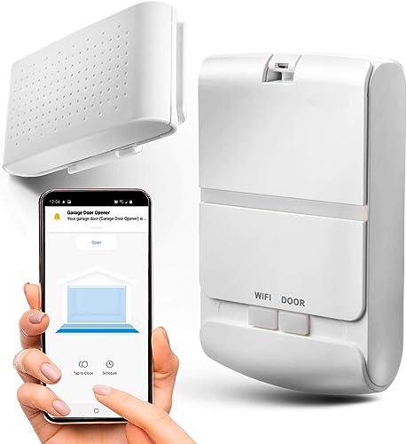 wholesale Home wholesale Zone Security Smart Garage Door Opener - 2.4GHz online Wireless Remote APP Control Enabling Garage Controller (for Sectional Garage Door Systems) sale