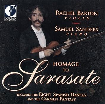 Sarasate, P.: Spanish Dances / Serenade Andalouse / Miramar / Introduction and Tarantella / Muiniera (Homage To Pablo De Sarasate)