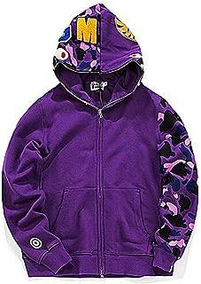 Mens Hoodies Ape Bape Sweatshirt Fashion Outdoor Tracksuit Casual Hip-Hop Funny Coat