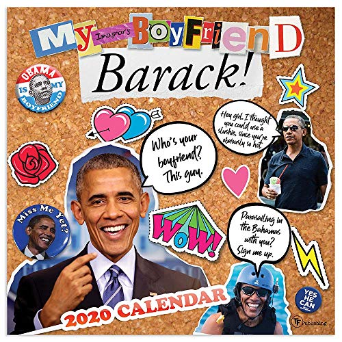 2020 My Imaginary Boyfriend: Barack Obama Wall Calendar