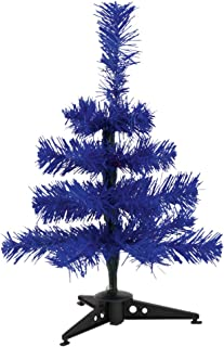 eBuyGB Mini Artificial Christmas Tree, Blue