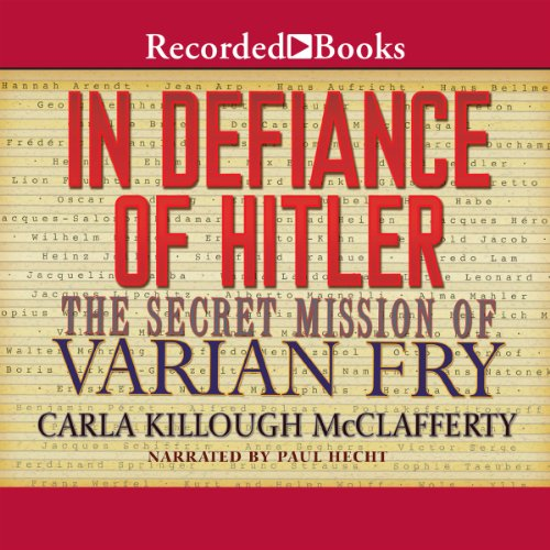 In Defiance of Hitler audiobook cover art