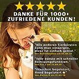 Golden Pets selbstreinigende Hundebürste & Katzenbürste   ALL-IN-ONE-Pflege für kurz-Langhaar geeignet   Einfache Reinigung durch EASY-CLEAN-Funktion   TOP Fellpflege für Ihren tierischen Freund - 6
