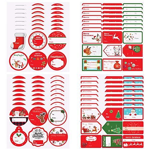 Etiquetas Navidad Regalo Adhesivas Marca BESTZY