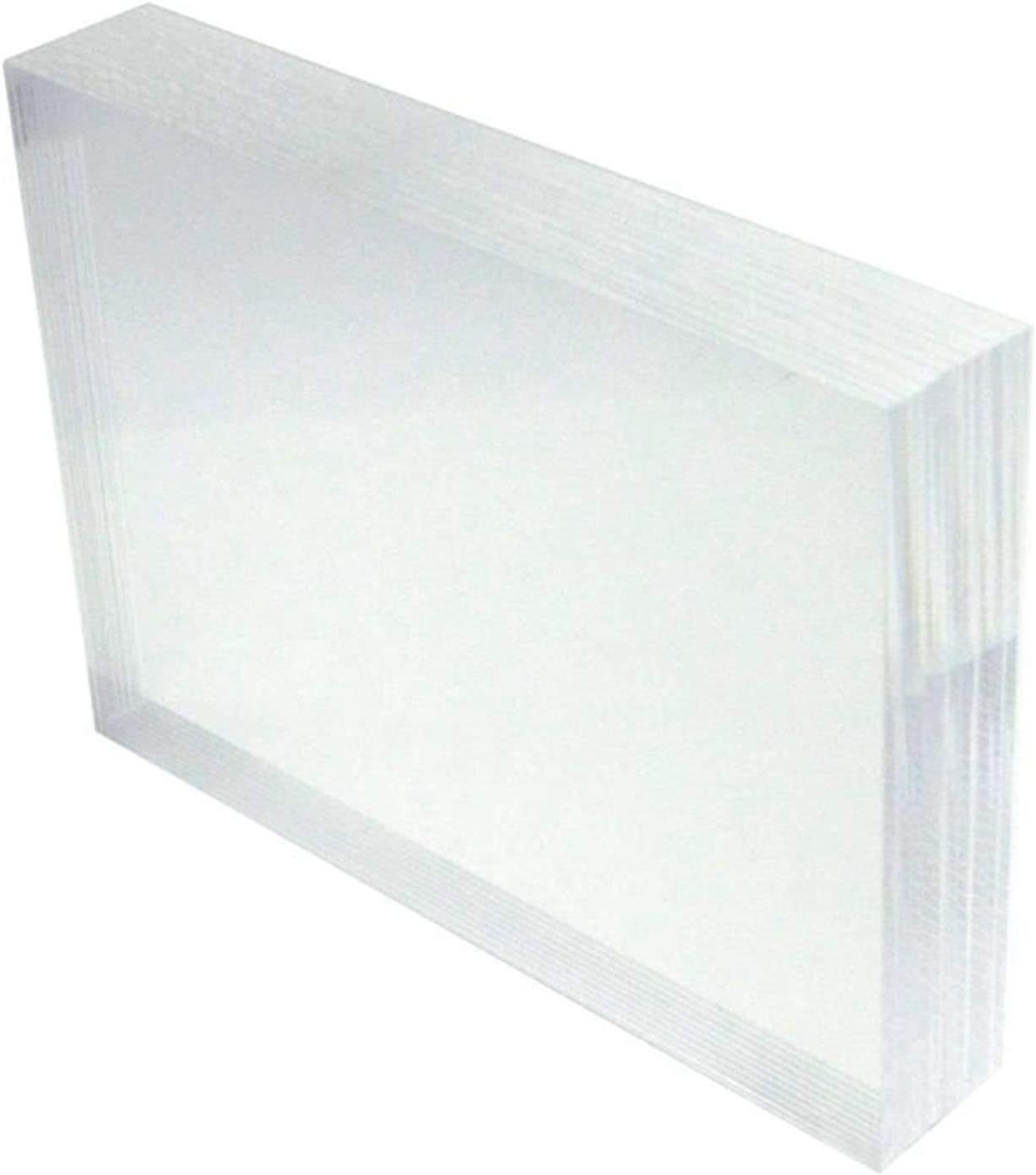 service HESIN Clear Acrylic DIY Blank Sign Outstanding 5