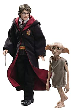 Star Ace Toys Harry Potter & The Prisoner of Azkaban: Harry Potter with Dobby 1: 8 Scale Collectible Action Figure, Multicolor SA8011B