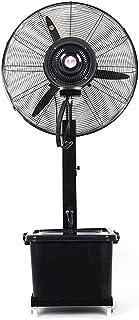 Jyfsa Fábrica Ventilador de Aire frío, Ventilador de vibración Vertical Potente Ventilador Industrial Ventilador de pulverización, Tienda de Vivienda Comercial, Ajuste de 3 velocidades