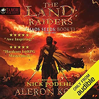 Page de couverture de The Land: Raiders: A LitRPG Saga
