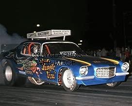 OnlyClassics JUNGLE JIM LIBERMAN CHEV CAMARO FUNNY CAR DRAG RACING AAFC PHOTO CAPITOL RACEWAY