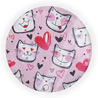 Empty Portable Air Cushion Puff Box Happy Valentine's Day Romantic Kitten Cat Heart Love Dressing Case Powder Box Bb Cream...
