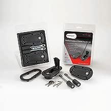 AeroCatch Xtreme Plus Flush Locking Hood Latch Kit - Black - Part # 120-4100