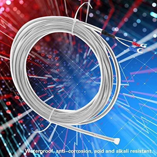 Termopar, alambre de termopar anticorrosión de platino de plástico con alta sensibilidad para escape de turbina de gas para motores diésel