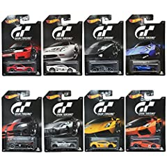Includes: 8 individually packaged 1:64 scaled die-cast vehicles. Vehicles included: 1-4 Nissan Skyline GT-R (R32) Red, Jaguar XJ220 (White), Ford GT LM (Black), Pagani Huayra (Blue). 5-8 '05 Dodge Viper SRT1 (Black), Aston Martin One-77 (Silver), Lam...