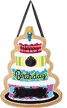 happy birthday door sign