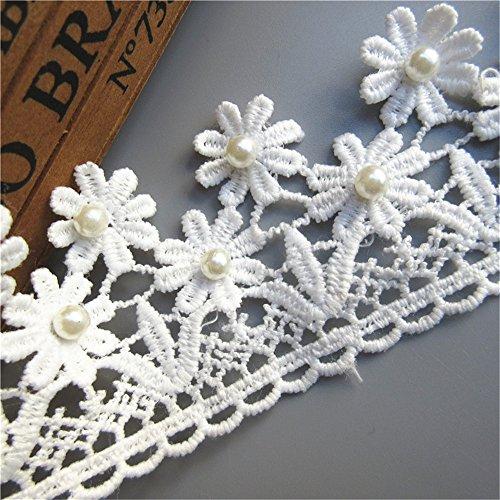 5 yd Vintage Black Triangle Lace Edge Trim Wedding Ribbon Applique Sewing Craft