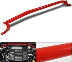 For Subaru Wrx Sti Front Upper Strut Bar Brace Tower Handling Control Suspension Turning Red Jdm Va 2.0L Fa20Dit 2.5L Ej257