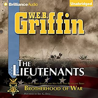 The Lieutenants audiobook cover art